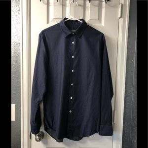 Zara Men's Long Sleeve Button Up